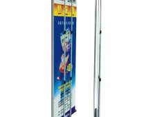 Standee cuốn cao cấp